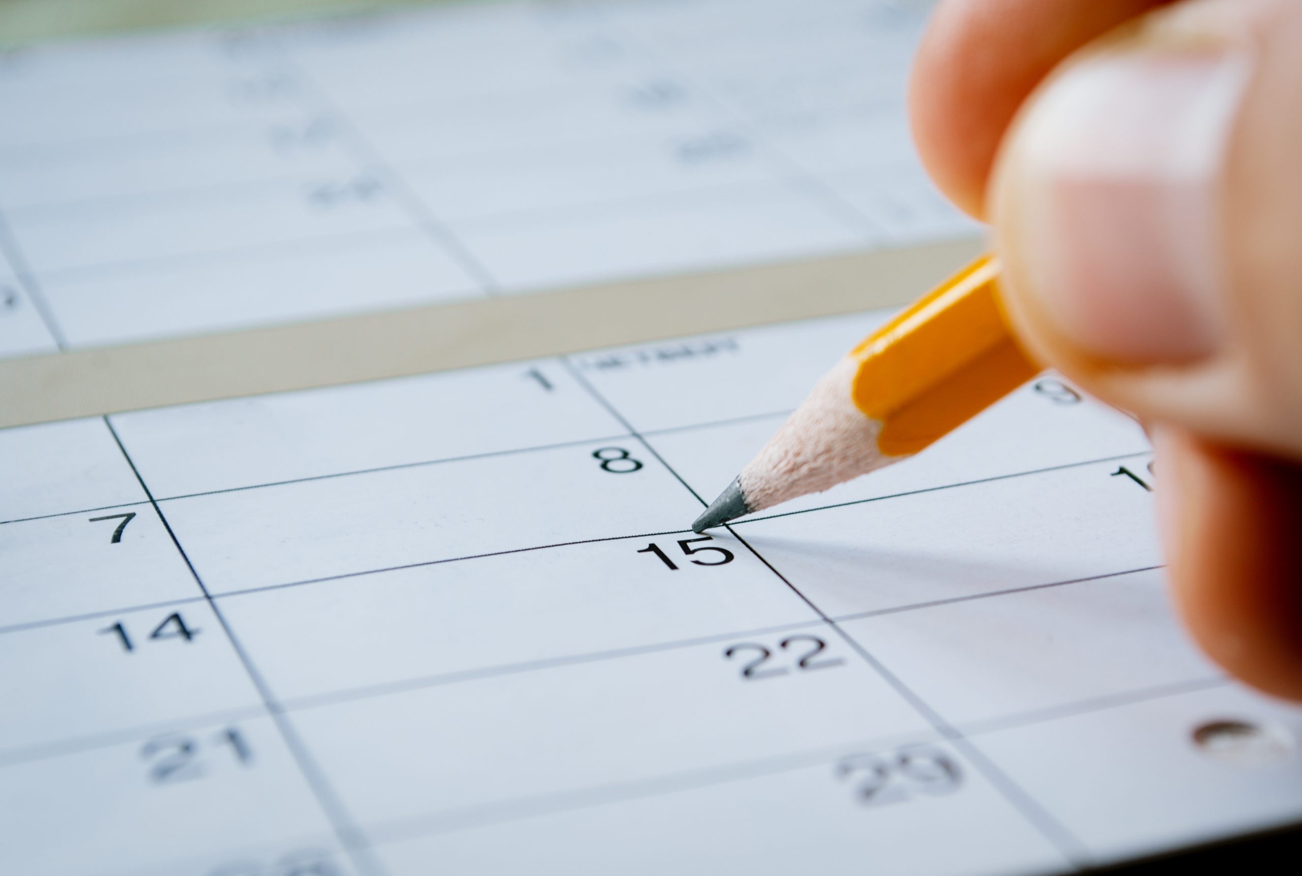 Life planning - making appointments in calendar